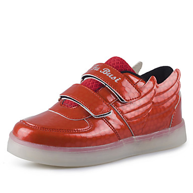 LED Shoes Boys' Shoes Casual Synthetic / Fashion Sneakers Blue / Red