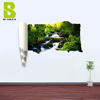보태니컬 로맨스 플로럴 풍경 모양 벽 스티커 3D 월 스티커 데코레이티브 월 스티커 자료 이동가능 홈 장식 벽 데칼