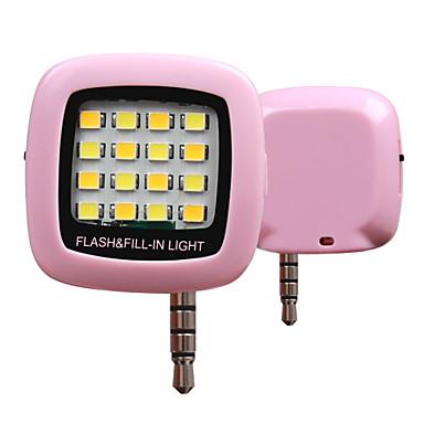 rk05 hideg és meleg világítással telefon szinkron vaku (vegyes szín)