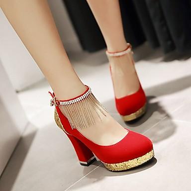 Chaussures Noir Femme Bleu Bottier Printemps Eté 04803342 Mariage Rouge Talon Gland Similicuir 6nUd0Uwxpq