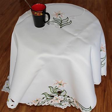 1 Poliészter Derékszögű AsztalterítőkHotel étkezőasztal / Lakodalom dekoráció / Esküvői bankett vacsora / Karácsonyi dekoráció Favor /