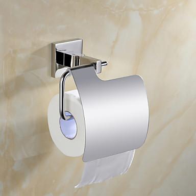 Jogo de Acessórios para Banheiro Suporte para Papel Higiênico / Espelhado Aço Inoxidável /Contemporâneo