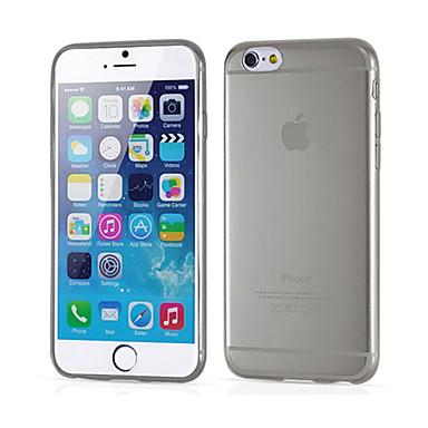 Maska Pentru Apple iPhone 6 iPhone 6 Plus Ultra subțire Transparent Capac Spate Culoare solidă Moale Silicon pentru iPhone 6s Plus iPhone