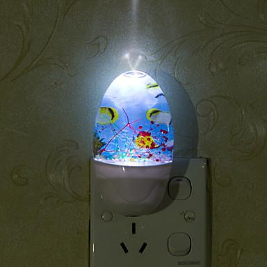 Lijep podmorje pametna svjetla pod kontrolom hitne vodio noćno svjetlo za djecu soba uređenje doma (assorted boja)