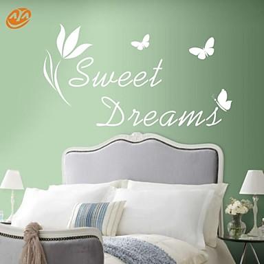 Riječi i citati Zid Naljepnice Zidne naljepnice,PVC S:40*72cm/ M:54*100cm / L:70*130cm