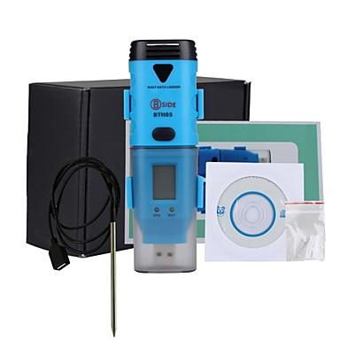 voordelige Test-, meet- & inspectieapparatuur-Bside bth05 waterdicht drie kanaals temperatuur vochtigheid dauwpunt datalogger met USB-interface en LCD-display