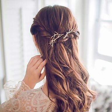 Damen Aleación Haar Clip - Blume
