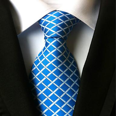 Krawatte ( Blau , Polyester ) Gitter
