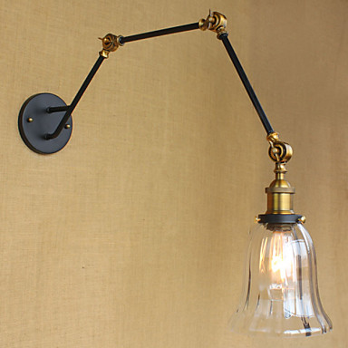 Duvar ışığı Ortam Işığı Swing Kol Işıkları 40WW 110-120V 220-240V E26/E27 Modern/Çağdaş Eloktrize Kaplama
