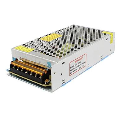 СПД-120W 12v10a CCTV аксессуары системные камеры трансформаторы питания металл - серебро (AC 110-220V)