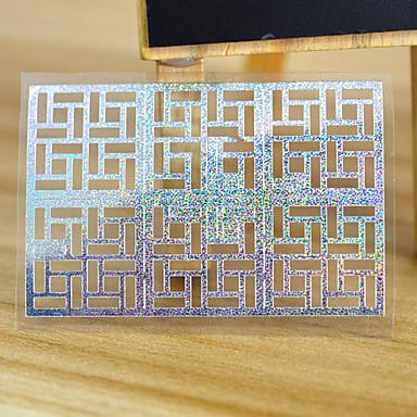 Sažetak - 3D Nail Naljepnice - za Prst / nožni prst - 13*7.5 - 5 sheet kom. - Other