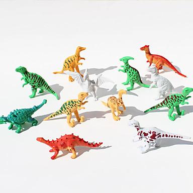 Dinosaurus Musiikkiin liittyvät action-hahmot Erikois Cartoon PVC Tyttöjen Poikien Lahja 12pcs