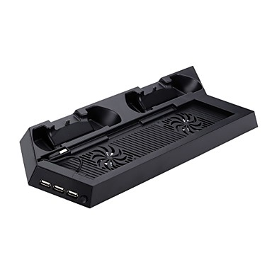 #-#-P4-CS001B-Recarregável / Hub USB- deMetal / ABS-USB- paraPS4 / Sony PS4
