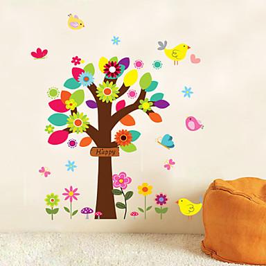 Dekorative Wand Sticker - Flugzeug-Wand Sticker Tiere Menschen Stillleben Romantik Mode Formen Retro Feiertage Cartoon Design Freizeit