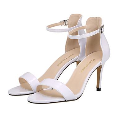 Sandaalit - Piikkikorko - Naisten kengät - Tekonahka - Musta / Punainen / Valkoinen / Sinappi - Puku / Rento / Juhlat -Korot /