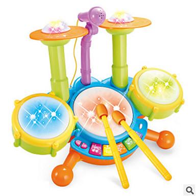 장난감 악기 장난감 전자 드럼 키트 카툰 조각 남아 여아 크리스마스 생일 어린이날 선물