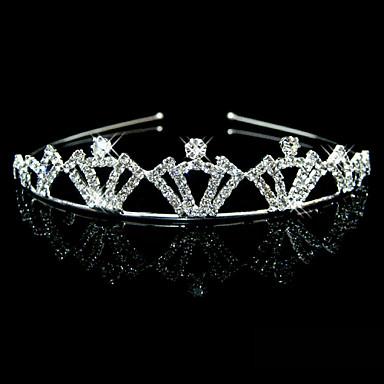 Strass Stirnbänder / Kopfbedeckung mit Blumig 1pc Hochzeit / Besondere Anlässe Kopfschmuck