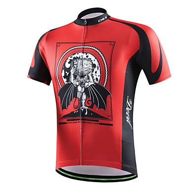 Biciklistička majica Žene / Muškarci / Uniseks Kratki rukav BiciklProzračnost / Quick dry / Moisture Permeability / Izzadás-elvezető /