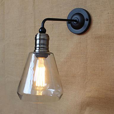 AC 100-240 40 E26/E27 Rustiikki Maalaus Ominaisuus for Lamppu sisältyy hintaan,Ympäröivä valo Seinälampetit Wall Light