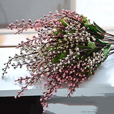 billige Kunstige blomster-Kunstige blomster 1 Gren Enkel Stil Frukt Bordblomst