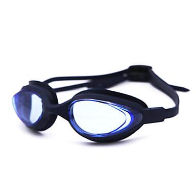 Óculos de Natação Anti-Nevoeiro silica Gel Náilon Branco Cinzento Preto Azul Rosa Cinzento Azul Azul Escuro Roxo