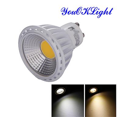 GU10 תאורת ספוט לד R63 1 נוריות COB דקורטיבי לבן חם לבן קר 600lm 3000/6000K AC 85-265 AC 220-240 AC 110-130V