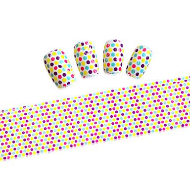 5PCS Adesivos para Manicure Artística Desenho Adorável maquiagem Cosméticos Designs para Manicure