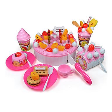 역할 놀이 케이크&쿠키 커터 케이크 Fruit DIY ABS 여아 아동용 선물 73pcs