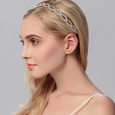 rhinestone headbands headpiece hääjuhlat tyylikäs feminiininen tyyli