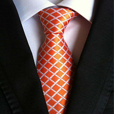 moda masculina laranja lapisa gravata gravata presente de festa de casamento