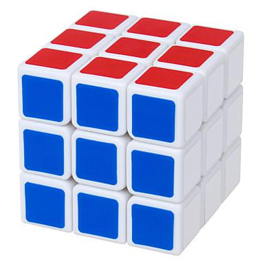 Shengshou® 부드러운 속도 큐브 3*3*3 속도 매직 큐브 블랙 페이드 / 아이보리 ABS