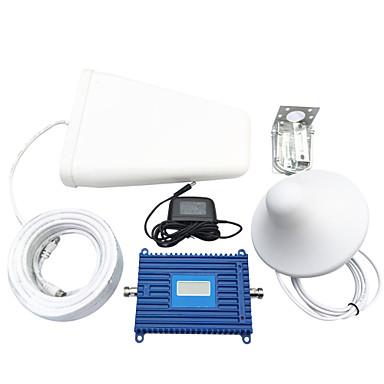 3g мобильный телефон усилитель устанавливает усилитель сигнала мобильного телефона Репитер сигнала 70dbi усиления WCDMA 2100 МГц с