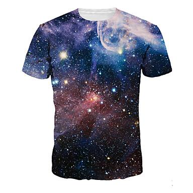 Inspirado por Fantasias Fantasias Anime Fantasias de Cosplay Cosplay T-shirt Estampado Manga Curta Camiseta Para Homens