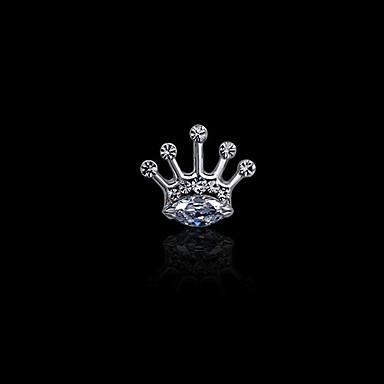 Miesten Naisten jäljitelmä Diamond Metalliseos Muoti Hopea Kultainen Korut Häät Party Päivittäin Kausaliteetti