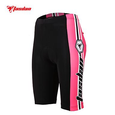 TASDAN Damen Gepolsterte Fahrradshorts Fahhrad Shorts / Laufshorts / Unterwäsche Shorts / Undershort / Gepolsterte Shorts 3D Pad, Rasche