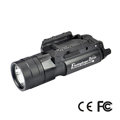JG-2A LED Flashlights/Torch LED 500 Lumens 1 Mode Cree 2*CR123A Impact Resistant Nonslip grip Waterproof Tactical Emergency Small Size