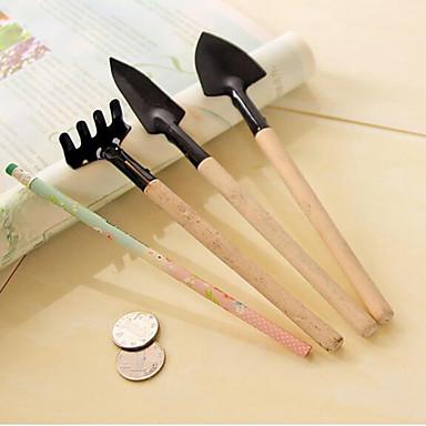 원예 도구 3 개 세트 작은 삽 / 갈퀴 / 삽 화분 꽃 심기