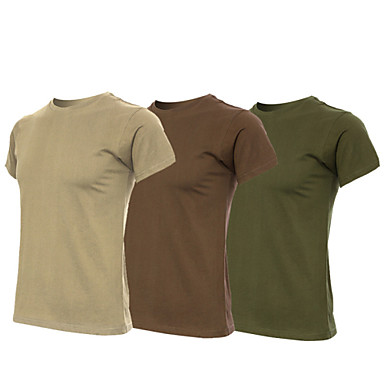 Herrn Damen Unisex T-Shirt für Wanderer Außen Hohe Atmungsaktivität (>15,001g) Atmungsaktiv Weich Schweißableitend Leichtes Material