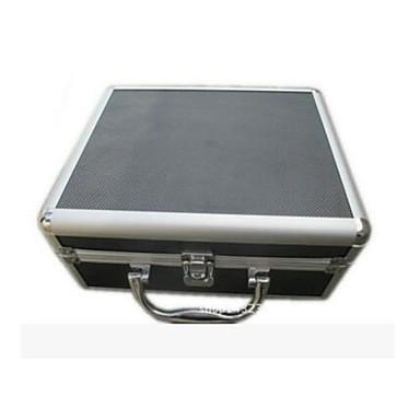 tatuagem basekey caixa de alumínio pequena preta com prego sx04