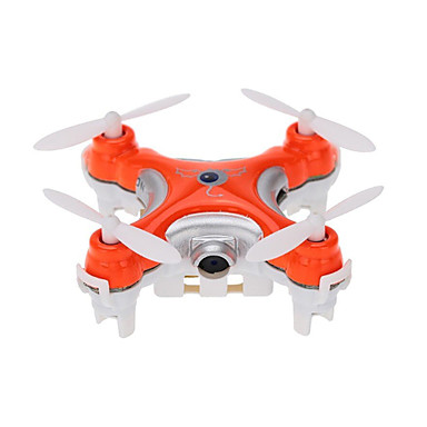 cheap RC Drone Quadcopters & Multi-Rotors-RC Drone Cheerson CX-10c RTF 4CH 6 Axis 2.4G With HD Camera 0.3MP 480P RC Quadcopter 360°Rolling / With Camera RC Quadcopter / Remote Controller / Transmmitter