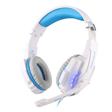 KOTION EACH Über Ohr / Stirnband Mit Kabel Kopfhörer Dynamisch Kunststoff Spielen Kopfhörer leuchtend / Lärmisolierend / Mit Mikrofon Headset