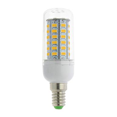 700 lm E14 G9 GU10 E26/E27 B22 E12 E26 LED-maissilamput T 56 ledit SMD 5730 Lämmin valkoinen Kylmä valkoinen AC 85-265V