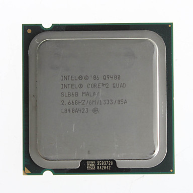 Intel Core 2 Quad q9400 2.66GHz LGA 775 CPU procesora