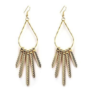 Viseće naušnice Europska Legura Zlato Pink Jewelry Za 2pcs