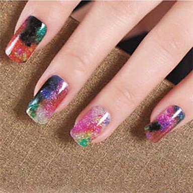 3D Nail Stickers-Muuta-Sarjakuva-Sormi-14.5*7.5-1PCS