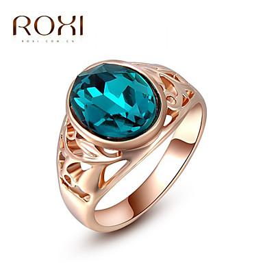 בגדי ריקוד נשים טבעת הצהרה - סגסוגת אופנתי מידה אחת One Size זהב ורד עבור חתונה / משרד קריירה