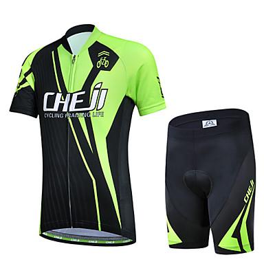 Biciklistička majica s kratkim hlačama Dječji Uniseks Kratkih rukava Bicikl Rukavi Biciklistička majica Kompleti odjeće Quick dry