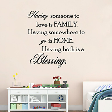 ottaa jonkun rakastamaan on perhe lainaus seinä tarra bessing kotiin seinätarrat