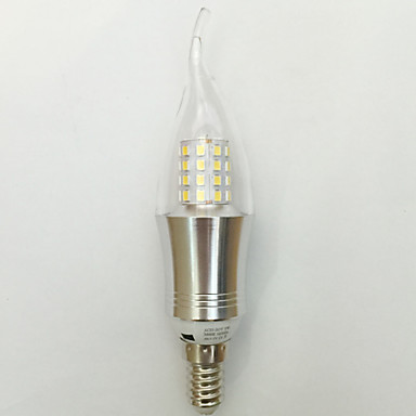 850 lm E14 LED-lysestakepærer C35 45 leds SMD 2835 Dekorativ Varm hvit Kjølig hvit AC 85-265V