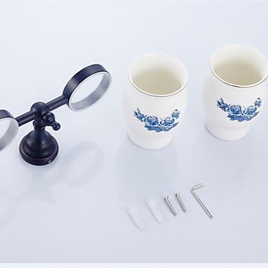 Držač četkica za zube Toalet gadgeti / Antique Brass Starinski